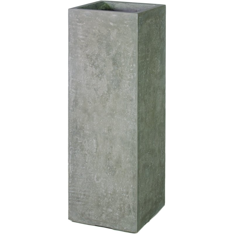 division pflanzs ule 35x35 100 cm natur beton. Black Bedroom Furniture Sets. Home Design Ideas